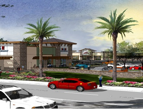 FONTANA VIEW FROM STREET RENDERING